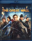 THE GREAT WALL Blu-ray - Matt Damon Asia Fantasy Action