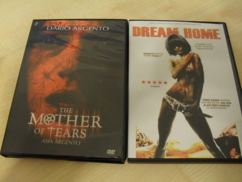 Dario Argento Mother of tears + Dream Home - 2 DVDs