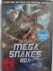 Mega Snake Box Sammlung 3 Filme: Mega Python vs. Gataroid