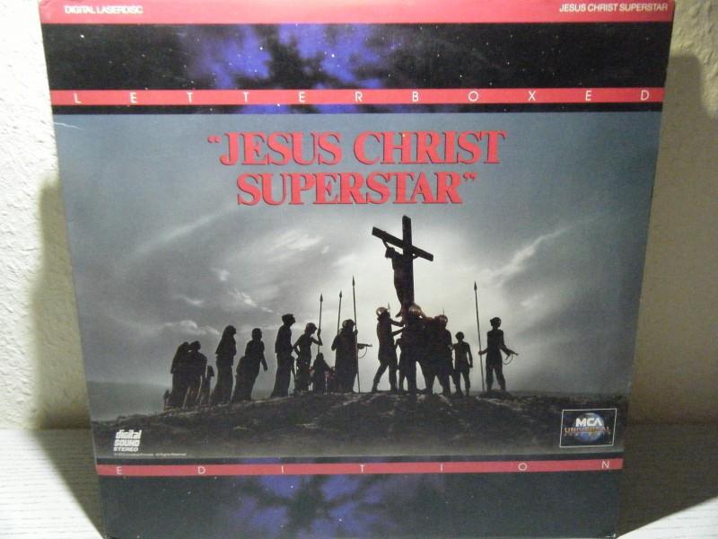 Jesus Christ Superstar LASERDISK IMPORT