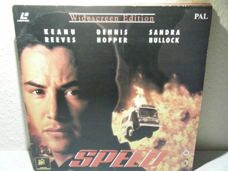 Speed LASERDISK 20th Century Fox IMPORT