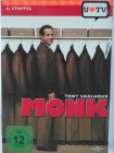 Monk - 4. Staffel - Tony Shalhoub lustiger TV Krimi Detektiv