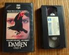 Das Omen II - Damien- 1978 VHS Erstauflage CBS FOX 1982
