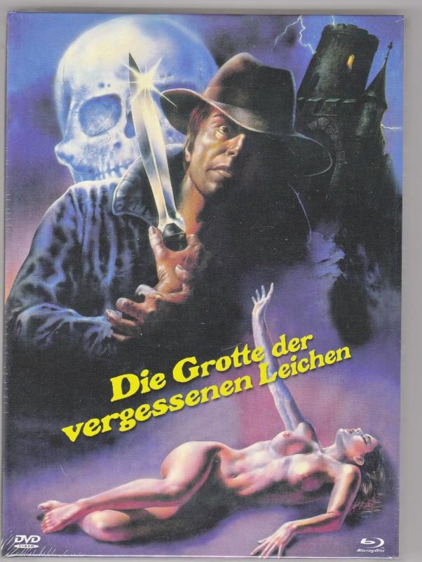 Die Grotte der vergessenen Leichen - Mediabook E - Giallo