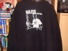 Nazis auf den Dönerspieß Kapuze Hoodi Schlumpf in XXL punk