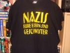 t-Shirt Nazis eure Eltern sind Geschwister in XXL punk