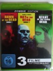 Night & Day & Dawn of the Dead - Zombie Sammlung A. Romero