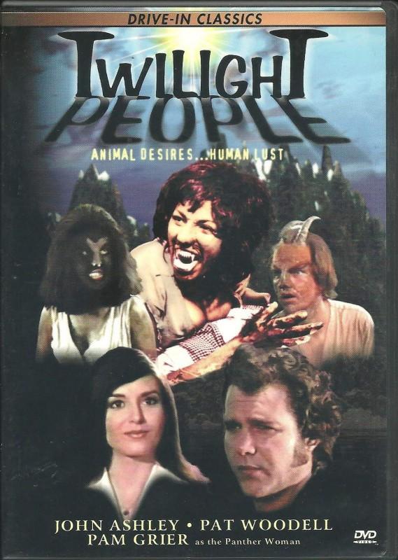 Twilight People (DVD) mit Pam Grier!