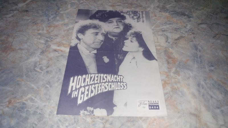 HOCHZEITSNACHT IM GEISTERSCHLOSS / FILMPROGRAMM