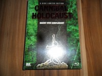 Cannibal Holocaust Blu-Ray Mediabook wattiert neu/ovp