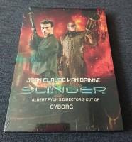 SLINGER - CYBORG Director´s Cut - MEDIABOOK - Neu+OVP -3Disc