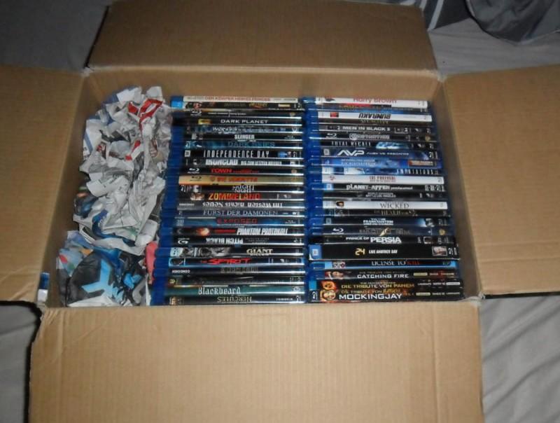 48 BluRay Filme Sammlung