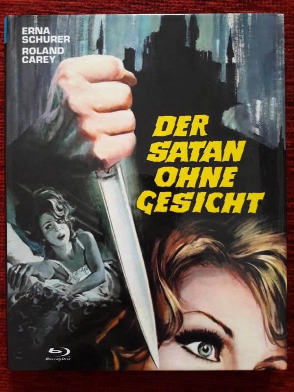 Der Satan Ohne Gesicht - kl. Hartbox - Uncut - Bluray