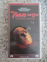 Friday the 13th Final Chapter Freitag (VHS) Video CIC engl.