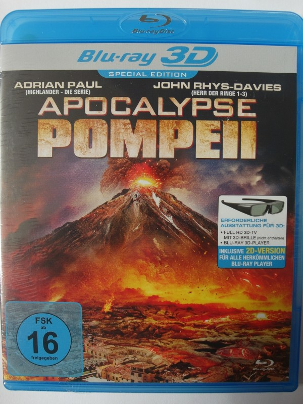 Apocalypse Pompeji 3D - Vesuv speit Lava Asche, Katastrophe