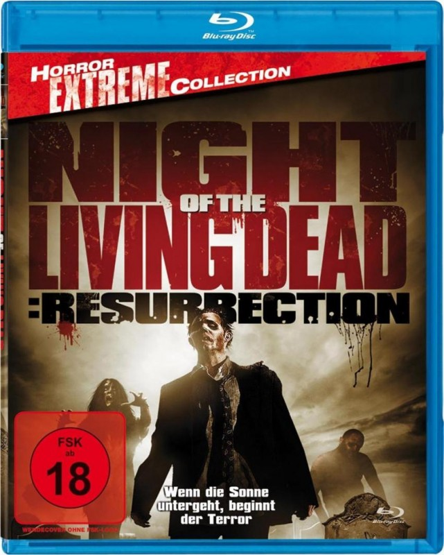 Night of the Living Dead: Resurrection [Blu-ray] (uncut) NEU