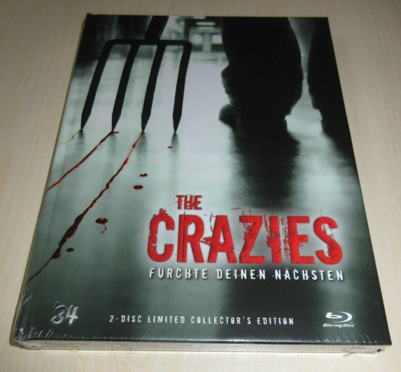 The Crazies - Mediabook - NEU OVP - 84 - Lim. Nr. 006/444