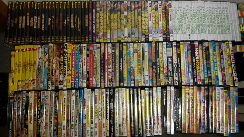 pi** Sammlung 166 DVDs& 71 VHS TOP u.a Hightide,Uromania etc