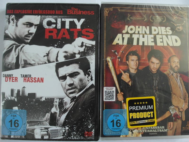 City Rats + John dies at the End - Action Thriller Sammlung