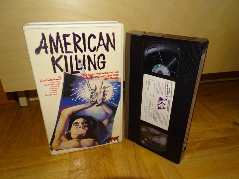 AMERICAN KILLING --- VCL Rarität