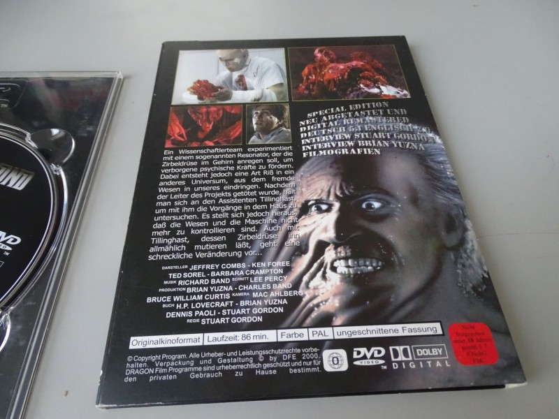 FROM BEYOND // Dragon DVD Top Zustand