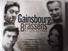 Serge Gainsbourg, George Brassens - 3 CDs Chanson Frankreich