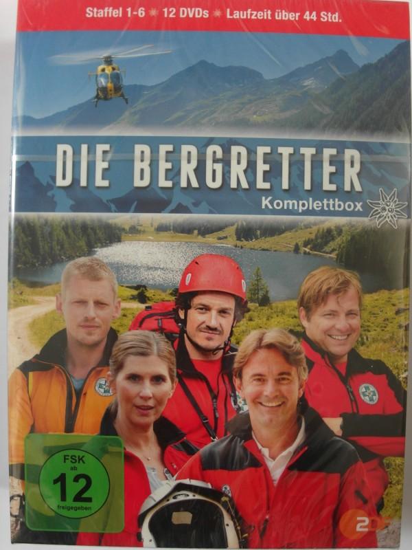 Die Bergretter - Die komplette TV Serie Komplettbox St. 1-6