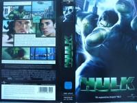 Hulk ... Eric Bana, Jennifer Connelly  ...  VHS  !!