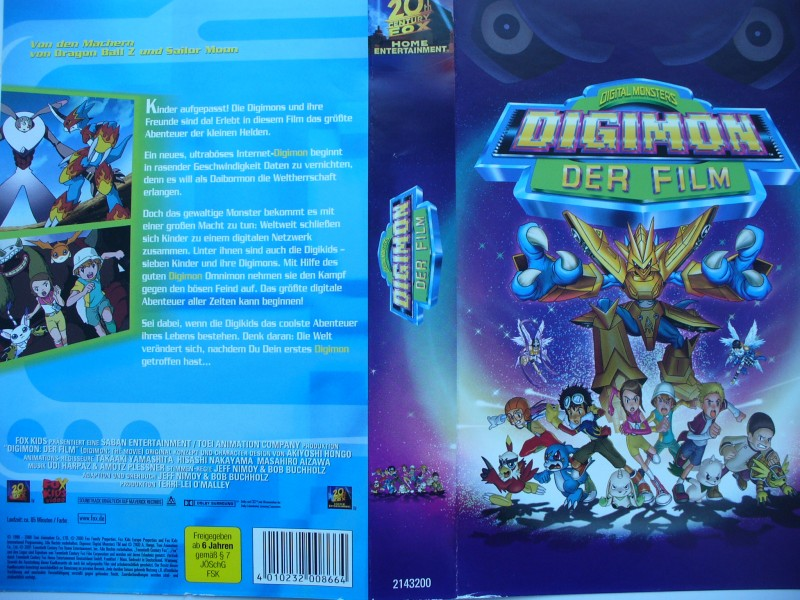 Digimon - Der Film  ...  VHS