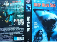 Deep Blue Sea ... Samuel L. Jackson  ...  VHS