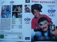Ein Cop und ein Halber ... Burt Reynolds  ...  VHS