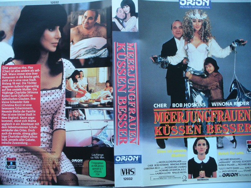 Meerjungfrauen küssen besser ... Cher, Bob Hoskins ... VHS