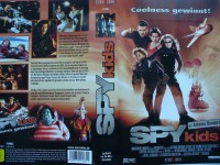 Spy Kids ... Antonio Banderas, Teri Hatcher ... VHS