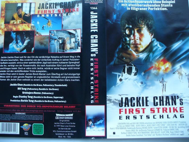 Jackie Chan´s First Strike - Erstschlag ...   VHS !!!