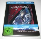 THE AMAZING SPIDER-MAN 2 RISE OF ELECTRO *STEELBOOK BLU-RAY*