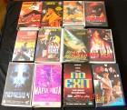 12 VHS - Videokassetten - Paket 5 - Eastern und Action -