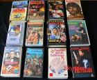 12 VHS - Videokassetten - Paket 6 - Eastern und Action -