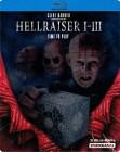 HELLRAISER 1-3 STEELBOOK - UNCUT - BLU-RAY