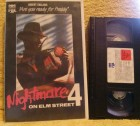 Nightmare on Elm Street 4 are you ready for Freddy VHS FSK18