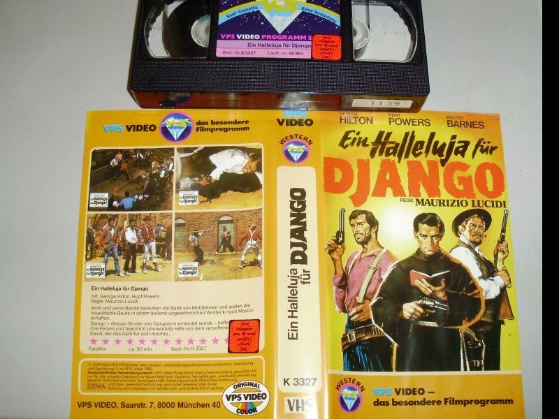 Ein Halleluja für Django +++VPS++ George Hilton TOP !