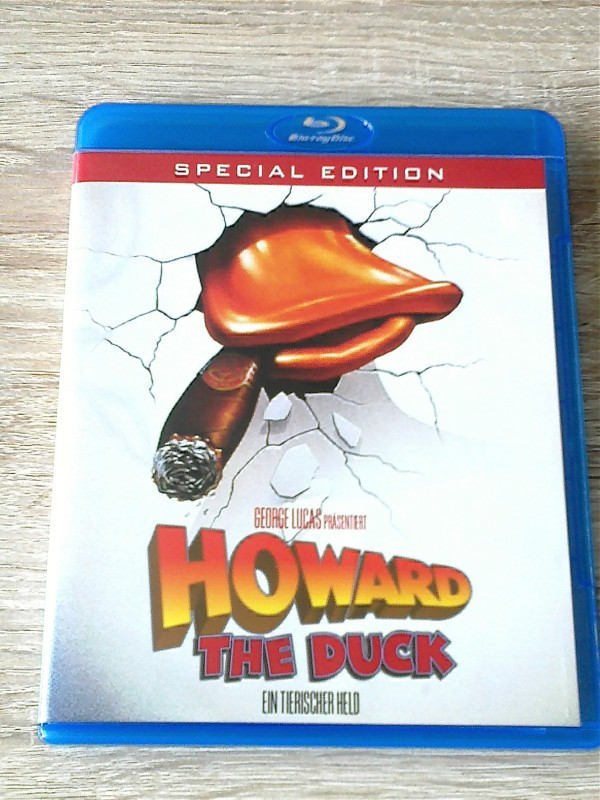 HOWARD THE DUCK(EIN TIERISCHER HELD)BD SPECIAL EDT.UNCUT