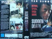 Sudden Death ... Jean Claude van Damme  ...  VHS