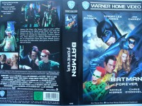 Batman Forever ... Val Kilmer, Jim Carrey  ...  VHS