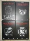 Hellraiser 1-4  Mediabooks Black Edition