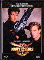 Navy Seals (Charlie Sheen) -UNCUT- Mediabook - Blu-Ray/DVD