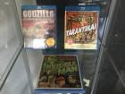 3 Blu Ray Filme Godzilla,Tarantula,the Invisible Man