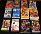 12 VHS - Videokassetten - Paket 10 - Action usw.  -