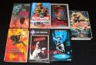7 VHS - Cover und Hartboxen - ohne Videokassetten -