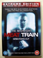 THE MIDNIGHT MEAT TRAIN - ENGLISCHE UNCUT DVD - NEUWERTIG