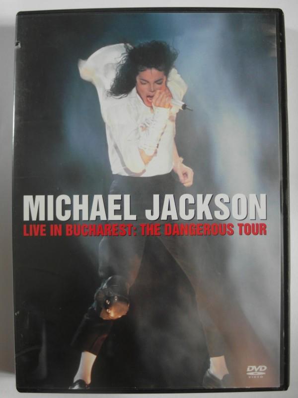 Michael Jackson - The Dangerous Tour - Live in Bucharest